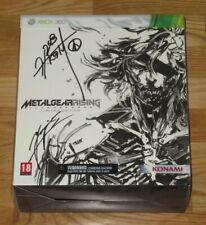 Metal Gear Rising Revengeance Limited signiert Hideo Kojima + Yoji Shinkawa Xbox