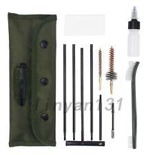 10pcs .22 22lr .223 556 Rifle Gun Cleaning Kit Set Cleaning Rod Nylon Brush UK