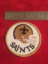 New Orleans Saints Patch Vintage 3 inch round Additional patches ship FREE