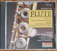Spotlight On Flute - CD - Jean-Pierre Rampal - Alain Marion - Renee Siebert