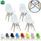 4 Eiffel DS Chaise salle à manger rétro ABS Plastique Blanc Noir Gris Rouge Vert