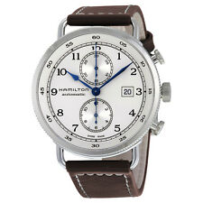 Hamilton Khaki Navy Pioneer Chronograph Automatic Mens Watch H77706553