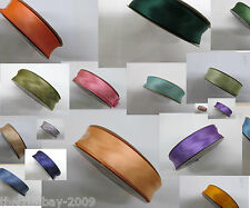 """Superior Quality Satin Bias Binding 25 Yards by 25 mm (1"""" Wide) £7.99 Free Post"""