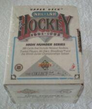 1991 Upper Deck High Series Hockey Factory Set