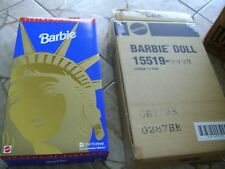 1995 Fao Schwarz Statue Of Liberty Barbie - Limited Edition - New In Box