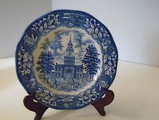 Avon Independence Hall Bicentennial Plate Birthplace of Declaration Special