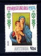 ANTIGUA - 1974 - Natale: dipinti Madonna