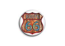 Badge Epingle 38mm Button Pin - Logo racers - Route 66 2