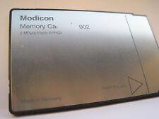 AEG Modicon SPS Speicherkarte 2MB PCMCIA MEF002  MEF 002 ALU205, ALU204, ALU1541