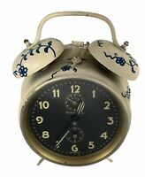 Vintage Guild Hall Alarm Clock Made in Germany For Parts, Repair or Display