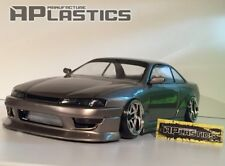 NEW Unpainted APlastics RC Drift car 1:10 body Nissan Silvia S14 style