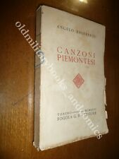 CANZONI PIEMONTESI ANGELO BROFFERIO CENTINAIA DI CANZONI PIEMONTESI IN DIALETTO