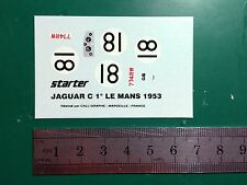 Decal 1:43 Jaguar C type Le Mans #18 1953 Starter