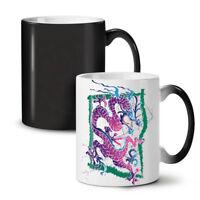 Dragon Oriental Fantasy NEW Colour Changing Tea Coffee Mug 11 oz | Wellcoda