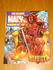 MARVEL CLASSIC FIGURINE COLLECTION #24 MEPHISTO MAGAZINE ONLY NO FIGURE