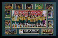 AUSTRALIA SOCCEROOS 2015 AFC CHAMPIONS LIMITED EDITION FRAMED MEMORABILIA