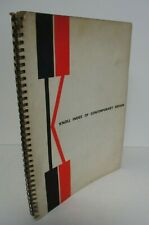 1954 KNOLL INDEX OF CONTEMPORARY DESIGN, Bertoia, Saarinen, Nakashima, etc.