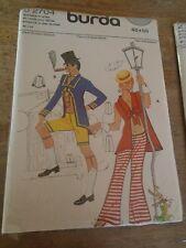 """92706 Rare Patron"""" BURDA Vintage Costume les Ballets Danseur Russe T 52 et 54"""
