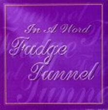 New: Fudge Tunnel: In a Word  Audio Cassette