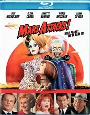 Mars Attacks New Sealed Blu-ray Tim Burton