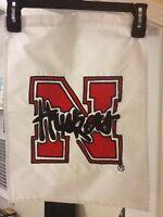 Nebraska Cornhuskers Flag Factory Garden Flag; 14'' x 16.5''; NCAA Football