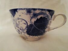 POOLE POTTERY BLUE VINE LARGE BREAKFAST CUP 4.25 INCHES
