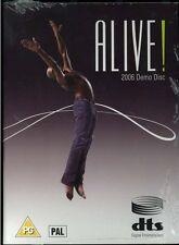 NEW 2006 DTS PAL DVD Alive! Demonstration Demo Disc #10