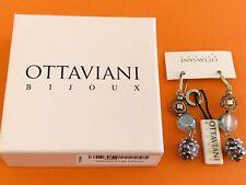 Ottaviani Bijoux Crystal Crochet Drop Earrings