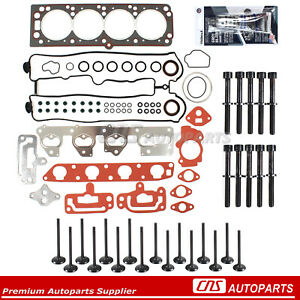 For 04-08 Suzuki Chevy 2.0L A20DMS Head Gasket Set Bolts Intake Exhaust Valves