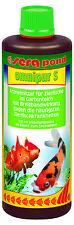 Sera Pond Omnipur S 500ml Breitbandmedikament gegen alle Krankheiten für 10000 L