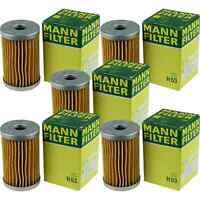 5x MANN-FILTER Ölfilter H 53 Oil Filter