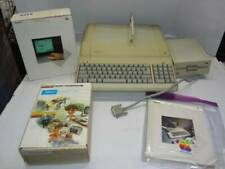 Apple IIe Computer w/Floppy Drive, Serial Card, Manual, Mouse II