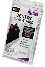 Sentry Fiproguard Flea and Tick Topical for Cats, 1.5 lbs and over, 6 Month