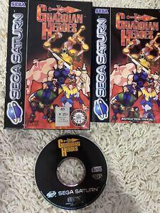 Sega Saturn Guardian Heroes Very RARE Amd Complete