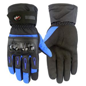 Mens Ski Gloves, Windproof Winter Snowboard Gloves, Thermal Insulation Gloves