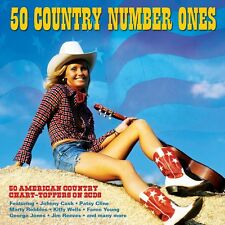 50 Country Number Ones - 50 American Country Chart Toppers (2CD 2016) NEW/SEALED