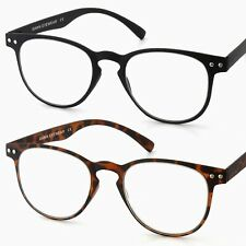40240e0d5a Ultra THIN   LIGHT TR90 Retro Vintage Large Lens READING GLASSES +1.50+2