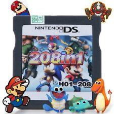 New 208 In 1 Game Cartridge Games For Nintendo Ds /NDS DSL DSi 3DS 2DS