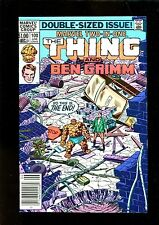MARVEL TWO-IN-ONE NEWSSTAND 100 (9.0) THING LAST ISSUE MARVEL (b012)