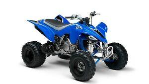 New-Ray 42833A Yamaha YFZ 450 ATV In Blue