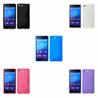 FOR SONY XPERIA M5 S-LINE TPU SILICONE GEL COVER CASE