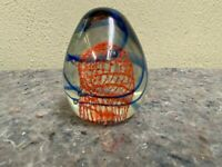 Interesting Art Glass Paperweight-Unsigned