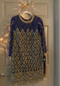 ZB 2 piece med/large pakistani formal outfit