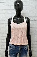 Maglia Donna ADIDAS Taglia Size 38 Maglietta Shirt Blusa Canotta Woman Cotone