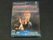 New Sealed Resident Evil: Dead Aim (Playstation 2 PS2)
