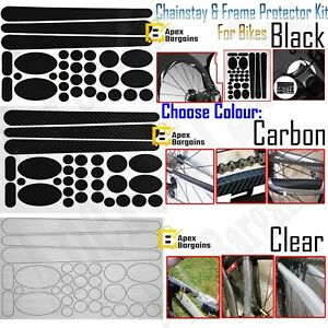 Bicycle Decal Stickers Chainstay Frame Protector Kit For Mountain Bike Road New
