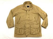 Paul & Shark Yachting Heavy Cotton Parka Coat Jacket Fleece Lined EMW Shield M L