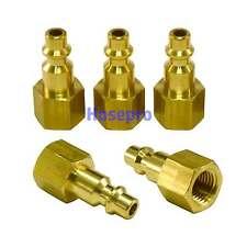 5pc 1/4 NPT Air Hose Fittings M Style Tool Line Compressor Construction Plug