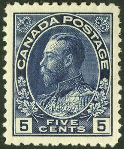 Canada   1911-25  Unitrade # 111a  VF  Mint Lightly Hinged