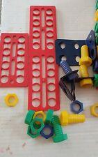 Vintage Nut,Bolt, & Panel,Building Set 77 pieces